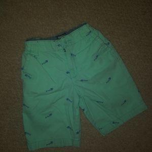 Oshkosh   Bonefish Print Adjustable Boys Shorts